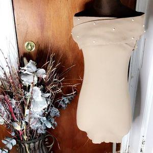 Dresses & Skirts - Mocha Off the Shoulders Dress
